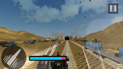 Euro Train Gunner Battle 2017 screenshot 2