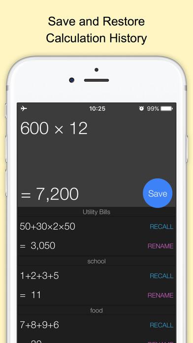 Screenshot #2 for Xmart Calculator Pro