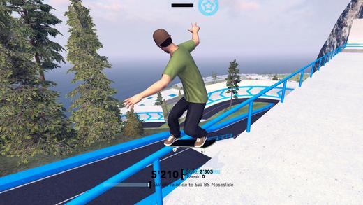 MyTP Skateboarding - Free Skate Screenshot