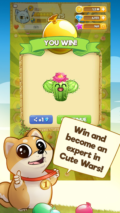 Cute Wars - Cats VS Dogs screenshot 4