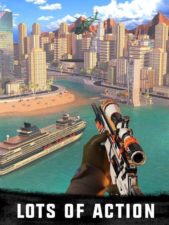 Sniper 3D Assassin: Shoot to Kill Gun Gamescreeshot 2