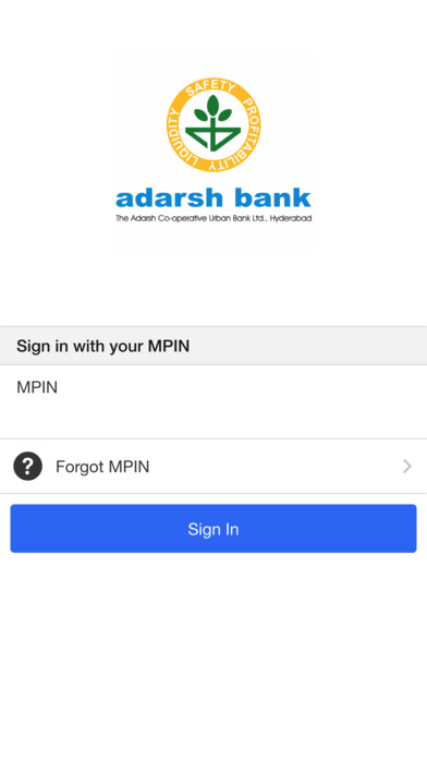 Adarsh Bank Hyderabad screenshot