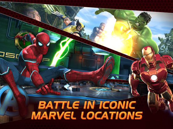 MARVEL Contest of Champions iPad