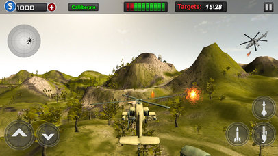 Gunship Air Heli Attack Screenshot 1