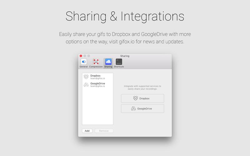 Gifox for Mac 1.5.0 激活版 - 实用的Gif动画录制工具