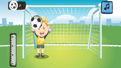 Little Kids Goal Keeper - Save The Goal screenshot 4