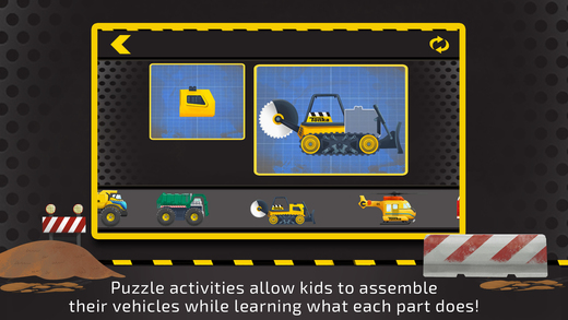 Tonka Trucks Around Town Screenshot