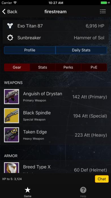 RPG for Destiny screenshot 3