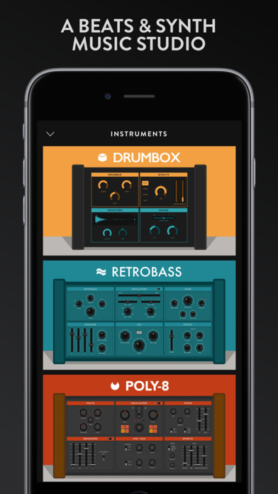 Groovebox - Beats & Synths Music Studio Screenshot 1