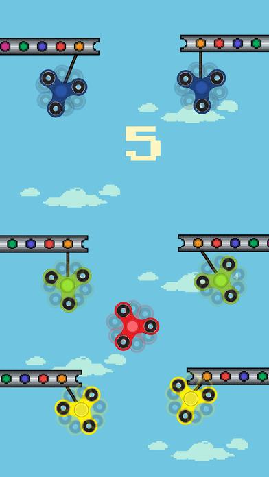 Fidget Spinner - Swing Spin Returns screenshot 2