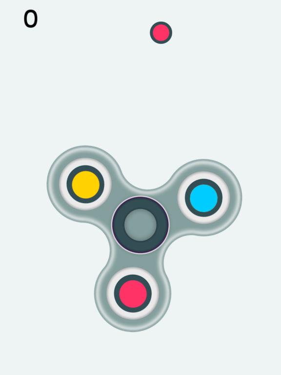Fidget Spinner - Hand Finger Spinner Simulator на iPad