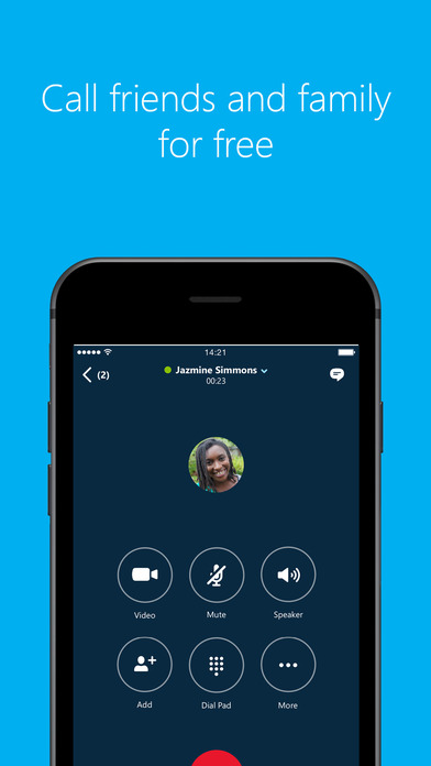 Skype for iPhone Screenshots