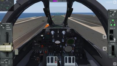 F35 Carrier Landing HD screenshot 2
