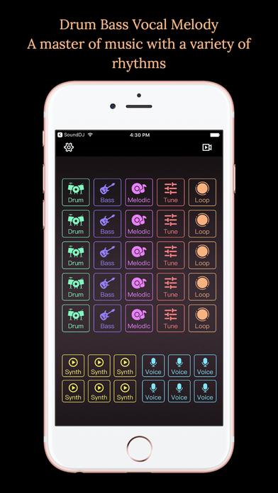 Screenshot #3 for DJ Mixer - Music Beats Editor