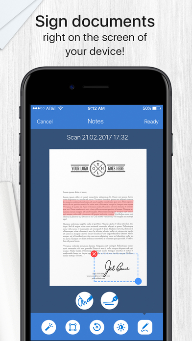 Screenshot #10 for Scanner App - Document & Receipt Scanner with Fax