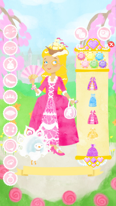 Princess Fashion Show: Gold Screenshots