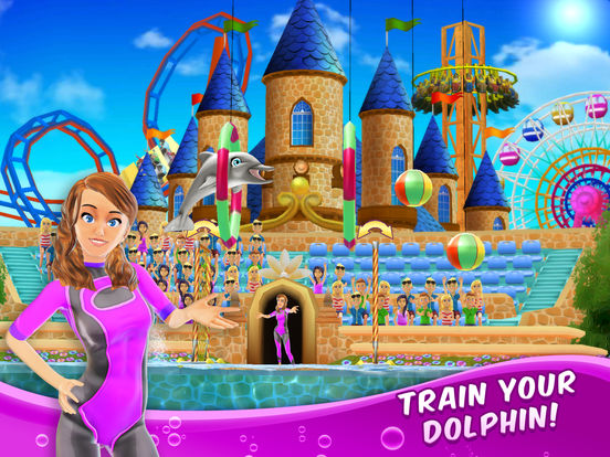My Dolphin Show: Pet animal game for girls & kidsscreeshot 1