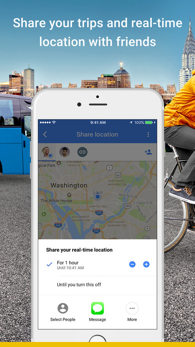 Google Maps returns to iOS