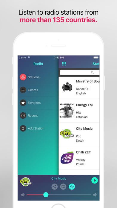 Play Radio Global. Collection of the best radio screenshot