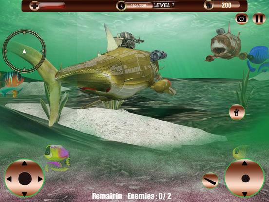 Angry Robot Shark Simulator screenshot 10