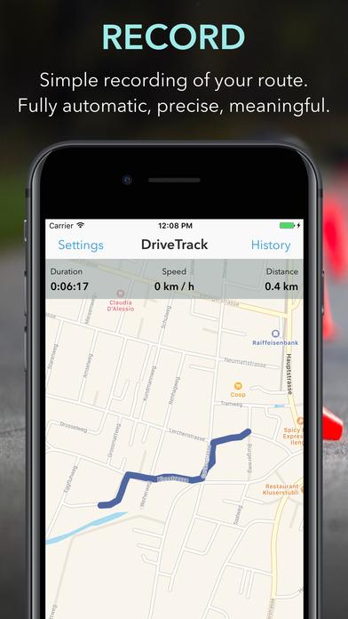 DriveTrack+ screenshot