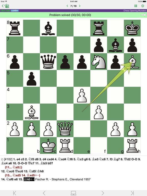 Chess Opening Blundersscreeshot 2