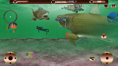 Angry Robot Shark Simulator screenshot 2
