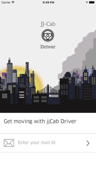 JJCab Driver screenshot 1
