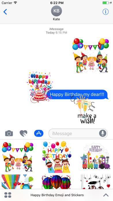 App Shopper Happy Birthday Emoji And Stickers