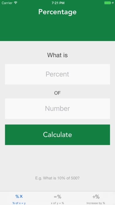My Percentage screenshot 3