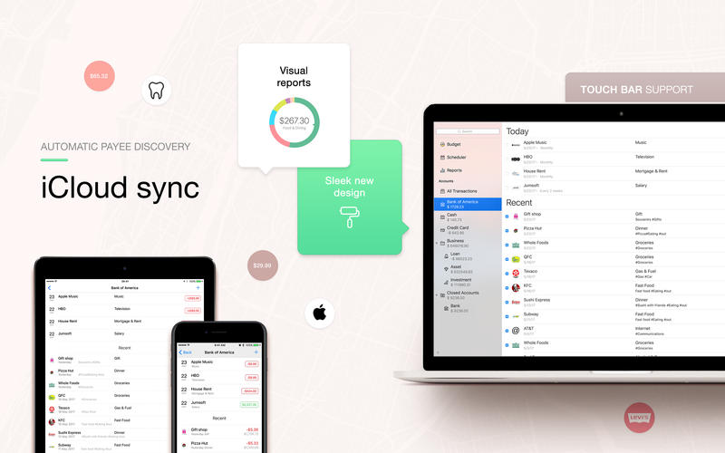 Money for Mac 5.1 破解版 - 优秀的财务管理记账工具