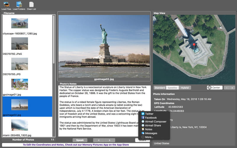 Memory Pictures Viewer for Mac
