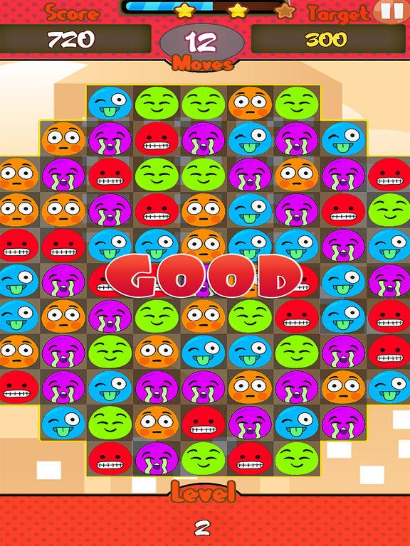 Jelly Emoji Match screenshot 6