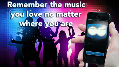 MyLyrics - The app to find a song from the lyrics Screenshot 1