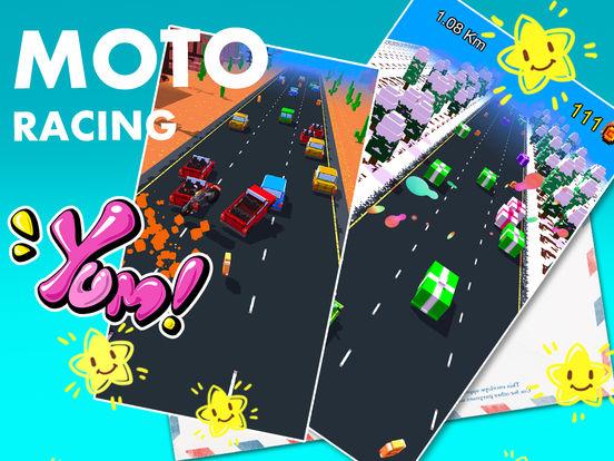 我的像素赛车:都市极速飞车游戏大全 screenshot 3