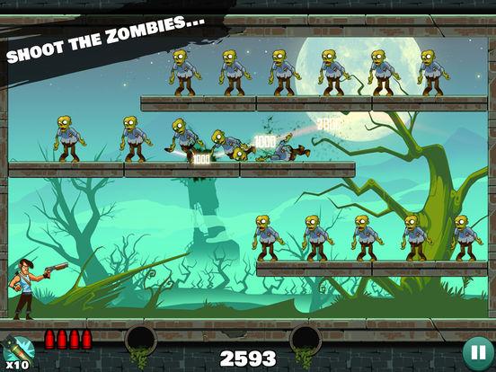 Screenshots of Stupid Zombies for iPad