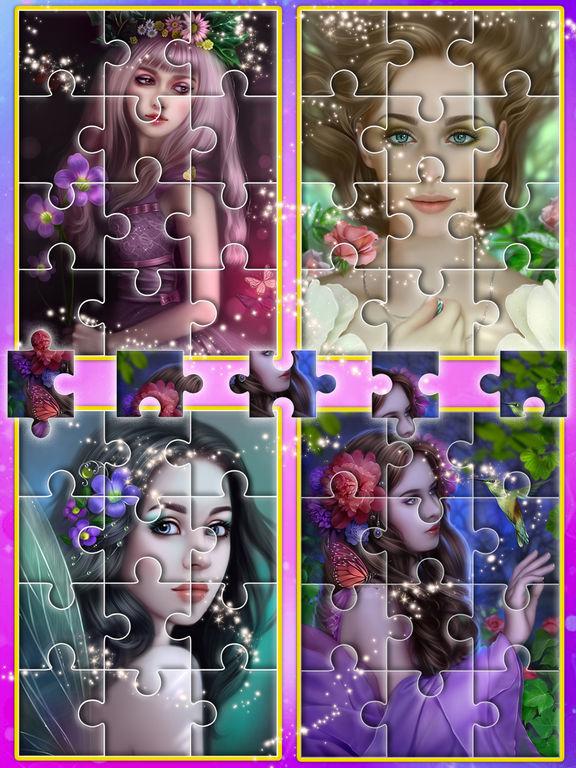 Angel princess puzzle screenshot 10
