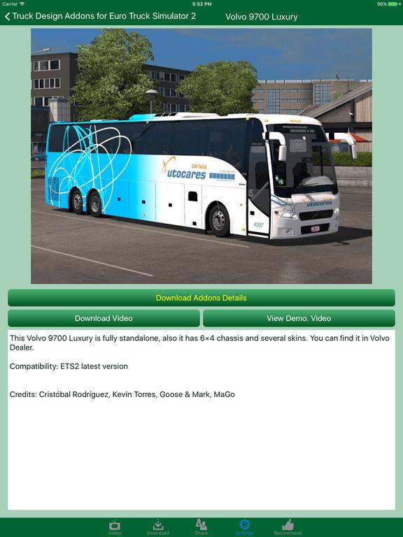 App shopper truck design addons for euro truck simulator for Truck design app