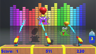 Water Gun Balloon Pop screenshot 2