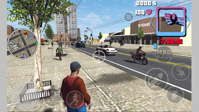 Mad Crime Town Wars Two Islands screenshot 5