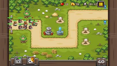 塔防游戏-兽人防御经典版TD screenshot 1