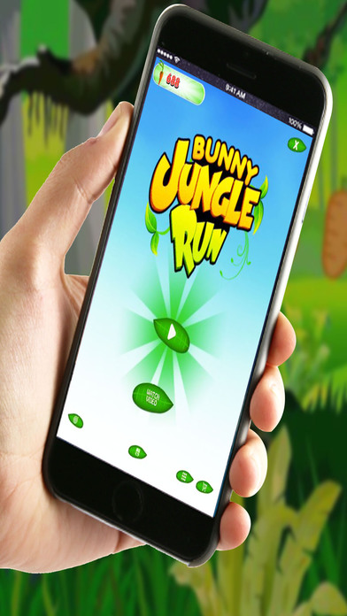 Bunny Jungle Run Adventure screenshot 2