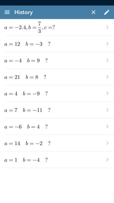 Solving Pythagoras PRO screenshot 3