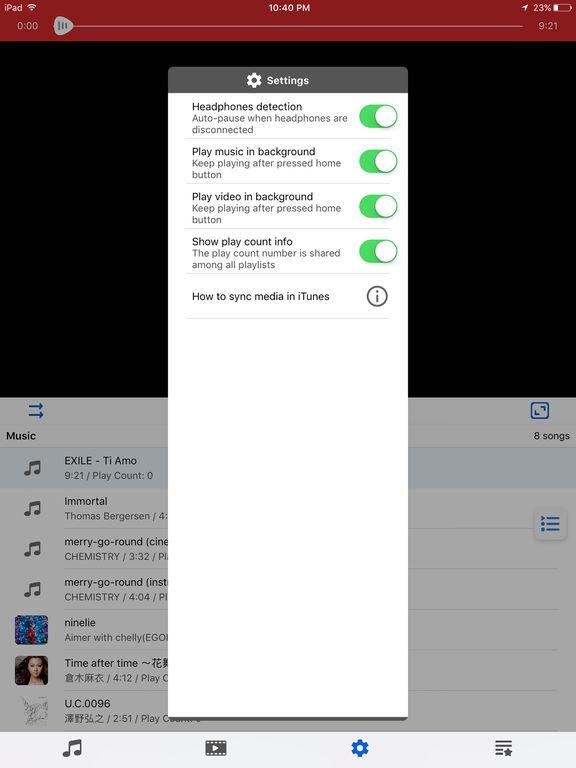 SW Player Screenshots