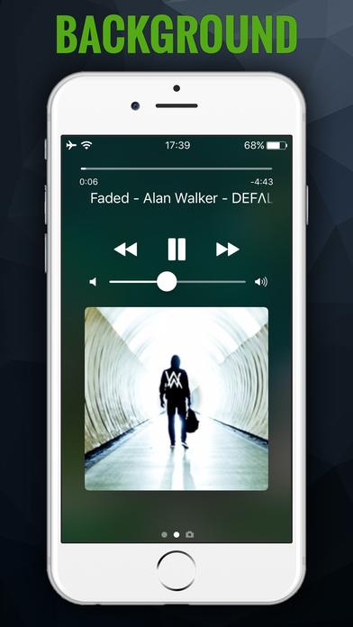iMusic BG - MP3 Songs Player & Fast Music Streamer Screenshot 3