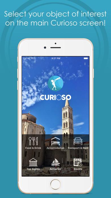 Curioso - Discover Zadar screenshot 1
