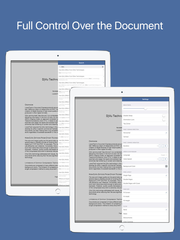 DjVu Reader Pro - Viewer for djvu and pdf formats Screenshots