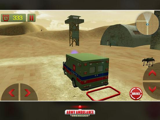 US Army Ambulance Rescue Game screenshot 8