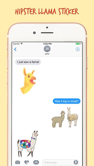 The Art Llama Stickers Pack screenshot 3