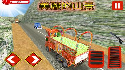 Pak-China Cargo Truck Sim screenshot 4